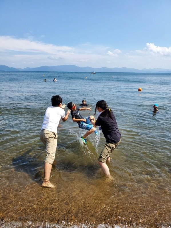 夏キャンプ 猪苗代湖_190827_0004